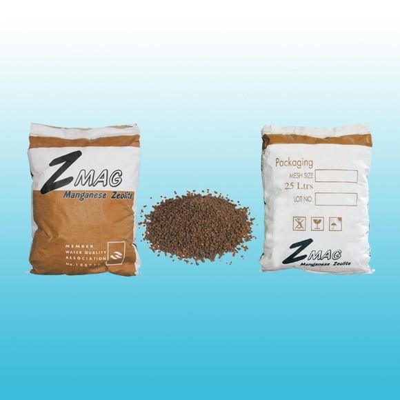 สารกรองแมงกานีส ไฮโดรเจนซัลไฟด์ Manganese zeolite Z-MAX ZEOLITE