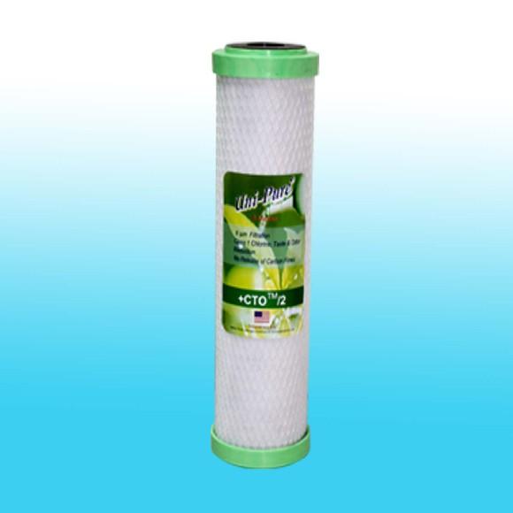 ไส้กรองน้ำ CTO Block Carbon Uni-pure CTO05-10