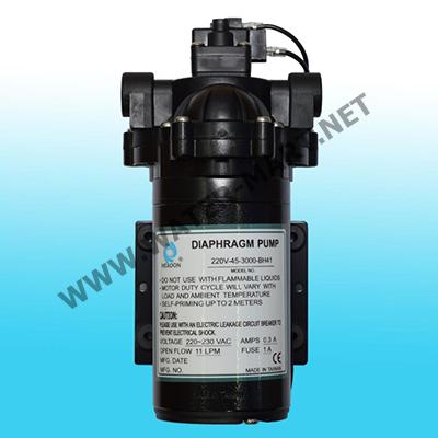 Delivery Pump HEADON 11 LPM, ปั๊มจ่ายน้ำตู้น้ำหยอดเหรียญ HEADON ขนาด 11 ลิตรต่อนาที