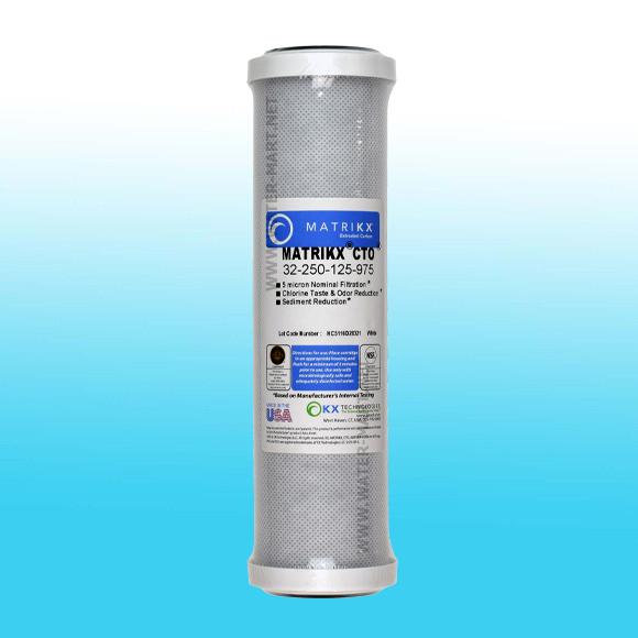 ไส้กรองน้ำ CTO Block Carbon MATRIKX 5-10