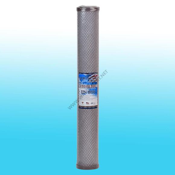 ไส้กรองน้ำ AQUATEK SILVER CARBON FILTER (CTO FILTER ID800) (ฝาเทา) ขนาด 20 นิ้ว