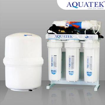 เครื่องกรองน้ำ AQUATEK SILVER รุ่น RO 50 GPD 5 ขั้นตอน ระบบ Reverse Osmosis