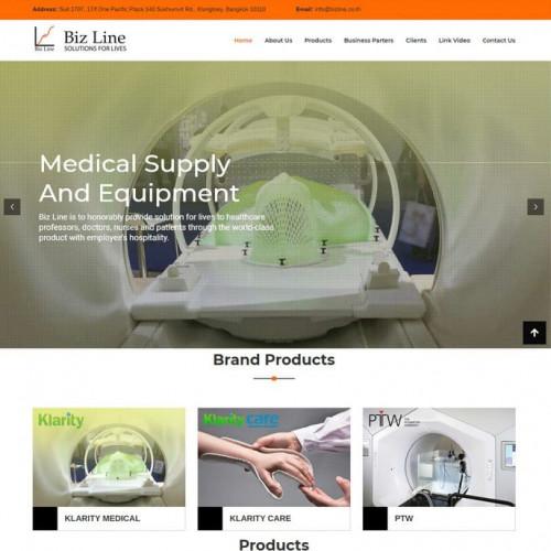 ออกแบบเว็บไซต์การแพทย์