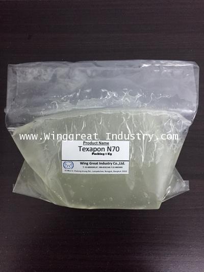 Texapon N70, หัวเชื้อแชมพู, Sodium Lauryl ether Sulphate