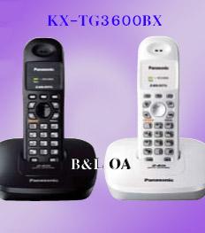 Panasonic เครื่องโทรศัพท์ไร้สายดิจิตอลรุ่น Kx-TG3600BX