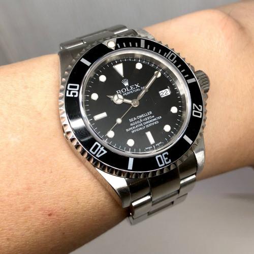 ROLEX Sea-Dweller 16600 D-Serial Automatic Date ขนาด 40 mm. (Fullset) | World Wide Watch Shop 3