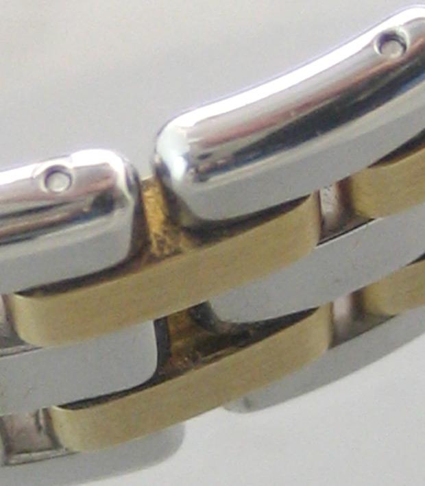 eberhard auto aquadate diamond for man, lady size 35mm หน้าปัดบรอนซ์เงินสไลด์เงาประดับหลักเวลาเพชรสว 8
