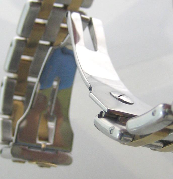 eberhard auto aquadate diamond for man, lady size 35mm หน้าปัดบรอนซ์เงินสไลด์เงาประดับหลักเวลาเพชรสว 10