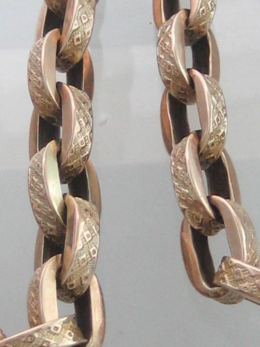 สร้อยคอทอง 9k อังกฤษ เรือนลายโซ๋โปร่ง น้ำหนักทองรวม 29.5 กรัม ขนาดความยาว 44cm ลายโปร่งหายากน่าสะสม 2