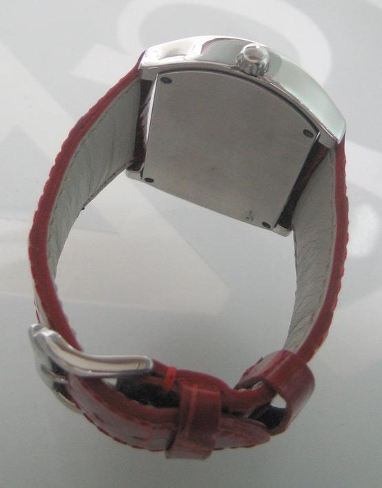CHRISTIAN GEEN uranus diamond for lady ขนาด 34x46mm หน้าปัดเงาอารบิคสลับสี กระจกแซฟไฟล์โค้ง ขอบฝังเพ 6