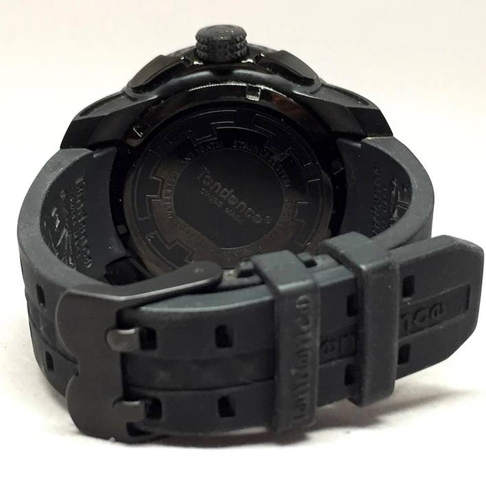 TENDENE World Time Back Digital Men's Watch Size 50 mm. (Fullset) 2