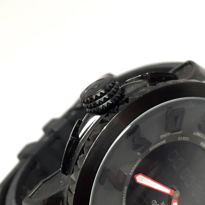 TENDENE World Time Back Digital Men's Watch Size 50 mm. (Fullset) 3