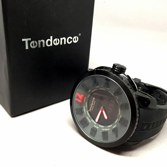 TENDENE World Time Back Digital Men's Watch Size 50 mm. (Fullset) 5