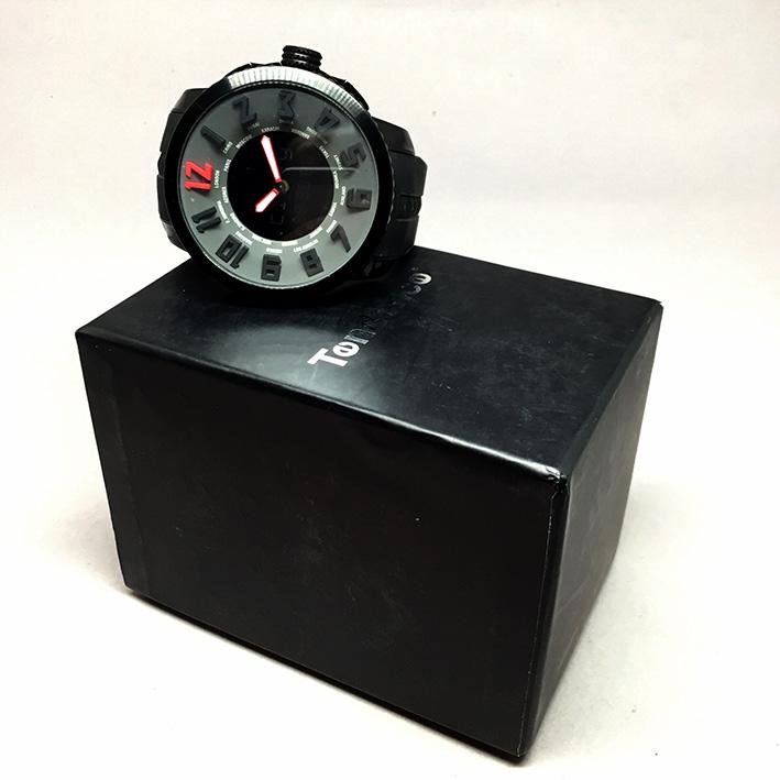 TENDENE World Time Back Digital Men's Watch Size 50 mm. (Fullset) 7