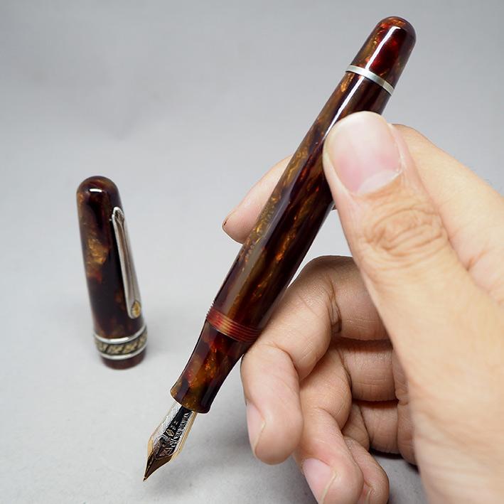 คู่ปากกาหมึกซึม และหมึกเคมี STIPULA Etruria Volterra Spacial Edition ด้ามหมึกซึมลายเส้นขนาด ปลากปากเ 1