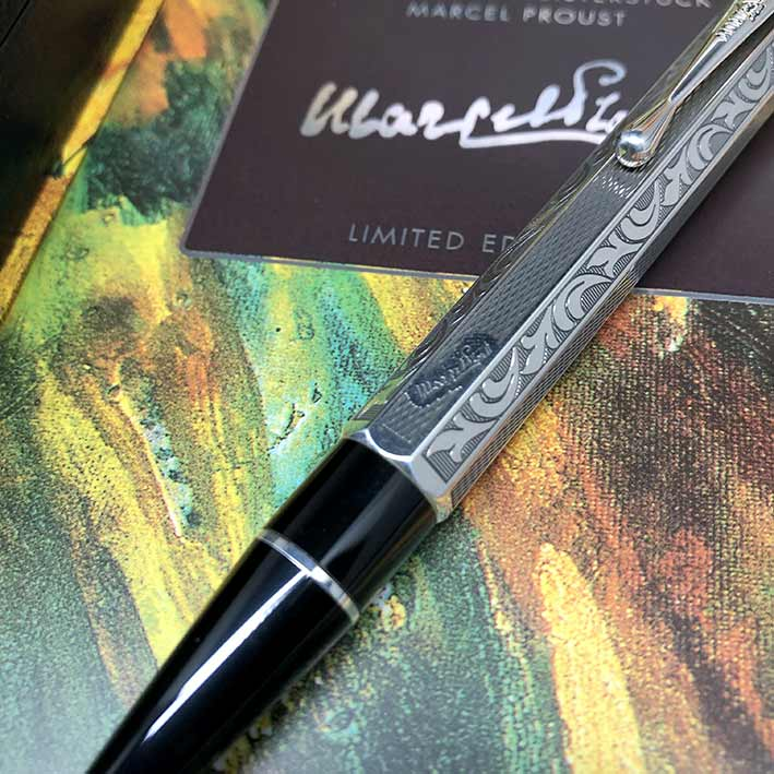 ปากกาหมึกแห้ง MONTBLANC MARCEL PROUST BALLPOINT PEN WRITERS EDITION 1999, Limited Edition 08217/2000 2