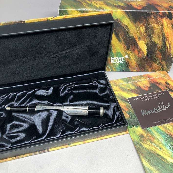 ปากกาหมึกแห้ง MONTBLANC MARCEL PROUST BALLPOINT PEN WRITERS EDITION 1999, Limited Edition 08217/2000 7