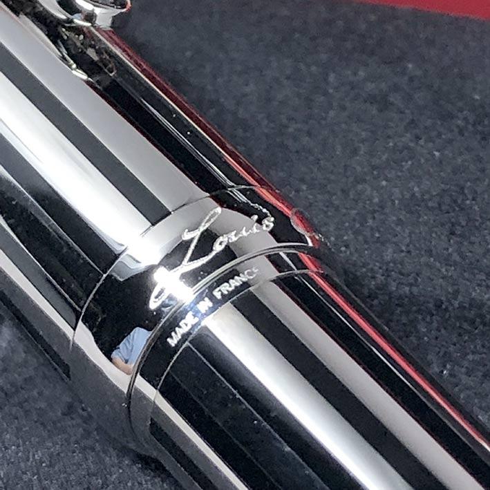 ปากกาหมึกซึม CARTIER Stylo Plume Limited 1808/1847 ปากทองขาว 18k (750) ตัวด้ามและชุดเหน็บเคลือบแพ็ตต 2