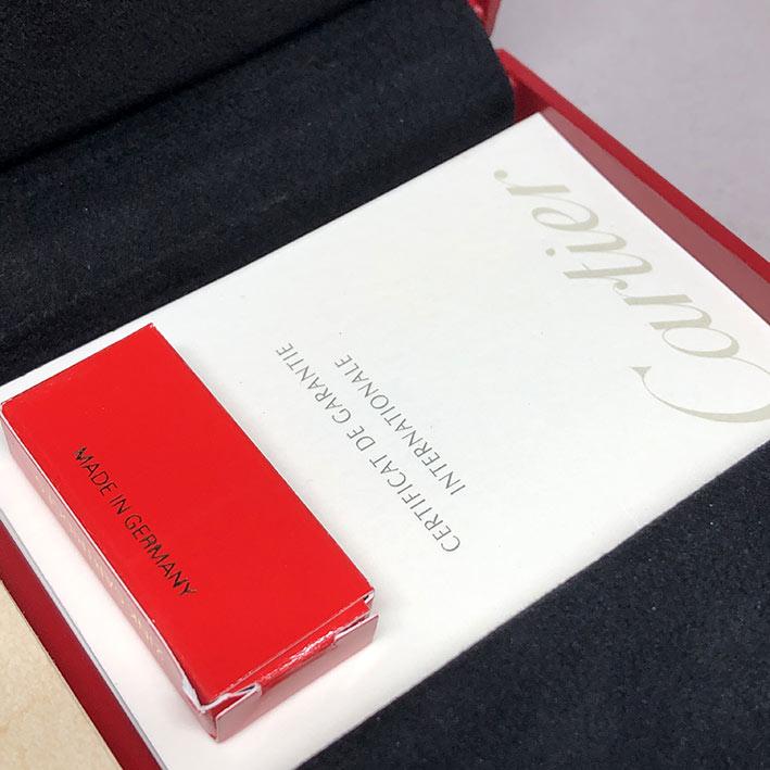 ปากกาหมึกซึม CARTIER Stylo Plume Limited 1808/1847 ปากทองขาว 18k (750) ตัวด้ามและชุดเหน็บเคลือบแพ็ตต 8
