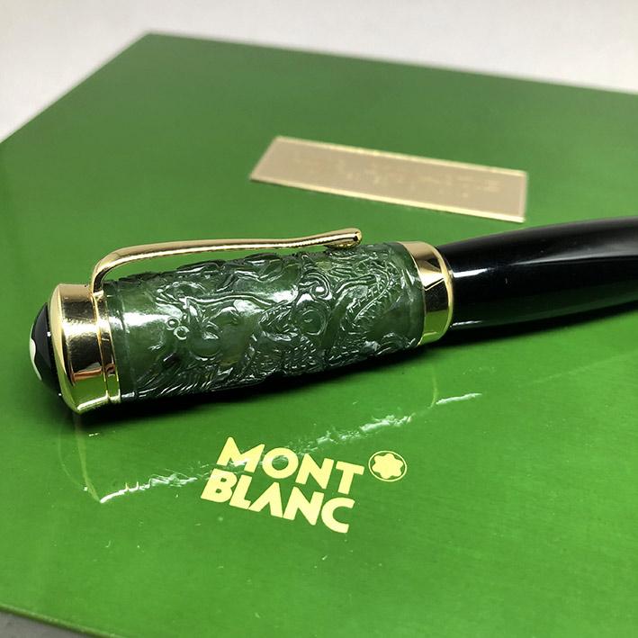 ปากกาหมึกซึม MONTBLANC Qing Dynasty Limited Edition ผลิตเพียง 1232 / 2000 ตัวเรือนส่วนล่างอครีลิคดำส 5