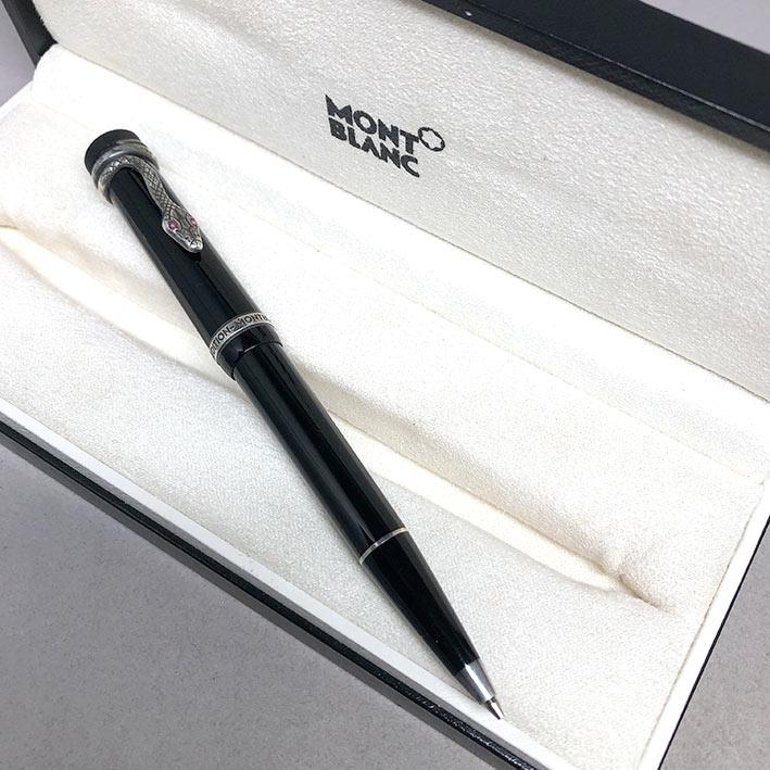 ดินสอ MONTBLANC 4810 ปี 1993 Limited 3825 / 7000 Agatha Christie ปลายเส้นไส้ดินสอ 0.5mm ตัวด้ามอครีล 1