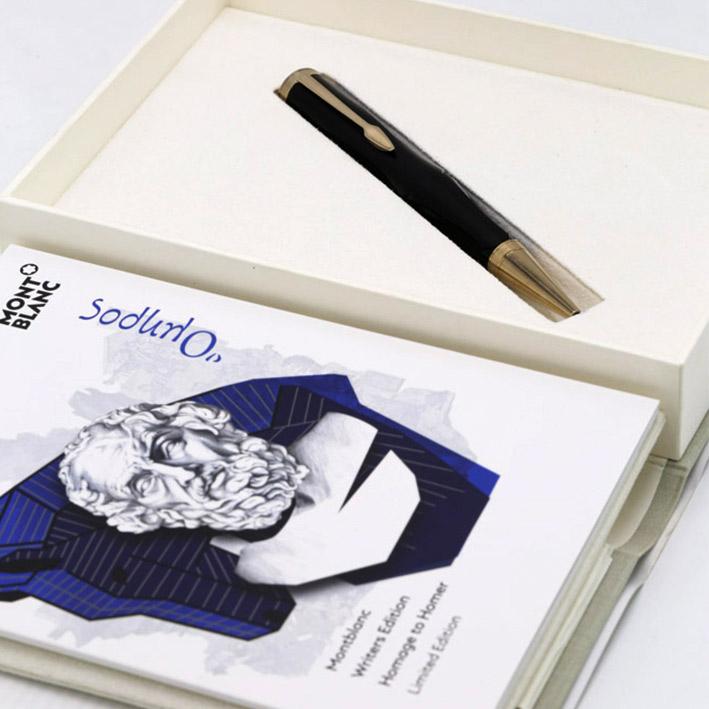 ปากกาหมึกแห้ง Montblanc Homage to Homer Rollerball Pen Fineliner Limited Writers Edition New Limited 7