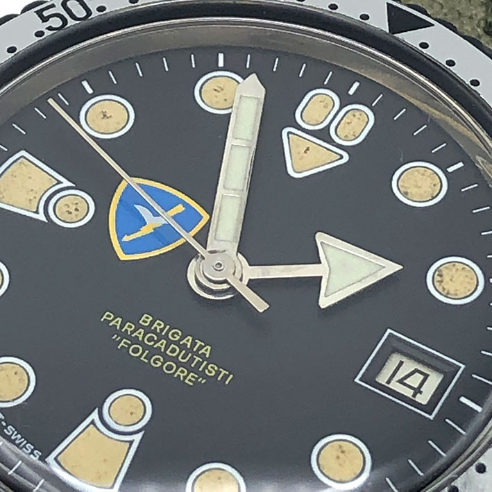 Military Watch BRIGATA PARACADUTISTI \quot; FORGORE \quot; automatic movement ขนาดตัวเรือน  37.5mm ห 1