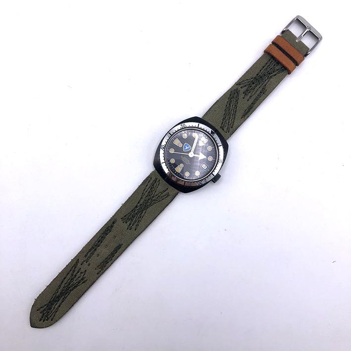 Military Watch BRIGATA PARACADUTISTI \quot; FORGORE \quot; automatic movement ขนาดตัวเรือน  37.5mm ห 5