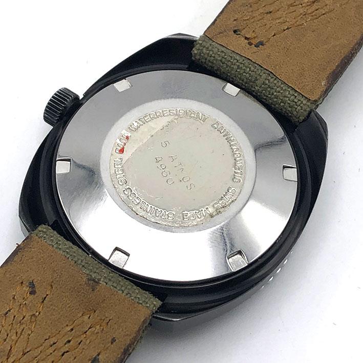 Military Watch BRIGATA PARACADUTISTI \quot; FORGORE \quot; automatic movement ขนาดตัวเรือน  37.5mm ห 4