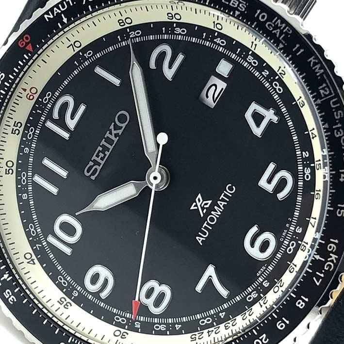 SEIKO Prospex Sky SRPB61K1 Navitimer automatic men\'s watch ขนาด 44.7 mm. 1