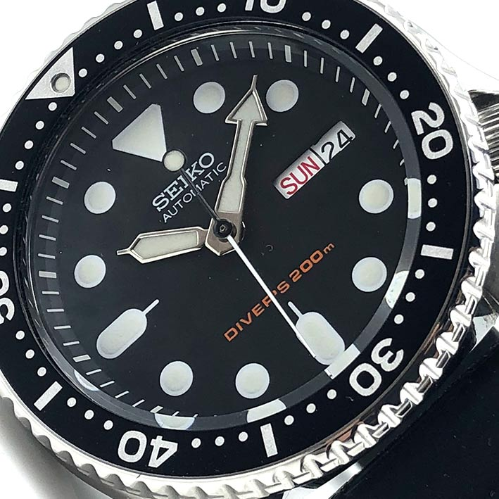 SEIKO Divers 200m 7S26.0020 automatic ขนาด 43x41 mm. 1