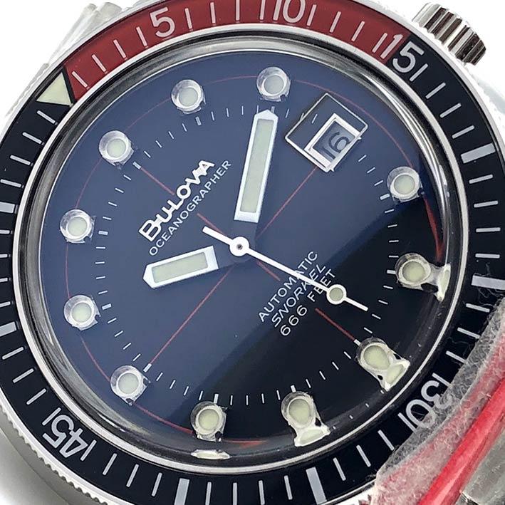 BULOVA Snorkel 666 feet automatic men\'s watch ขนาด 41 mm. 2