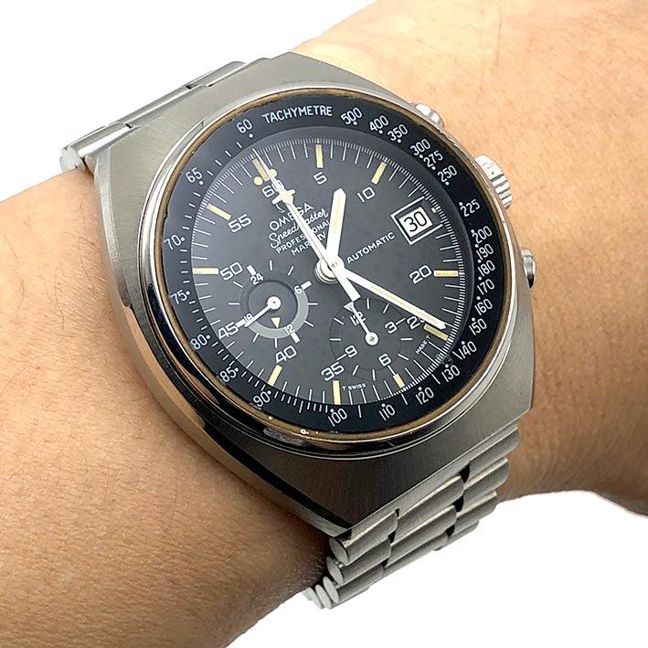 OMEGA Speedmaster Mark IV Automatic Chronograph Men\'s Watch ขนาด 42 mm. 5