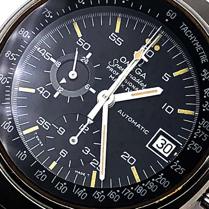OMEGA Speedmaster Mark IV Automatic Chronograph Men\'s Watch ขนาด 42 mm. 1