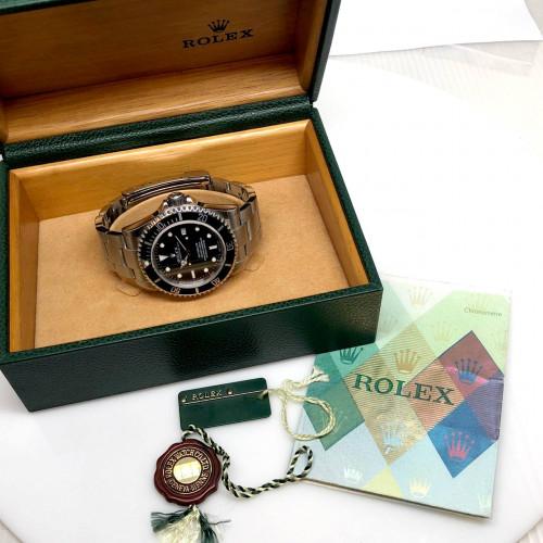 ROLEX Sea-Dweller 16600 D-Serial Automatic Date ขนาด 40 mm. (Fullset) | World Wide Watch Shop 4