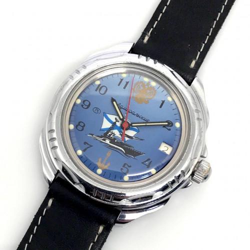 RUSSIAN Watch Date Unisex ไขลาน ขนาดตัวเรือน 39 mm.   World Wide Watch Shop