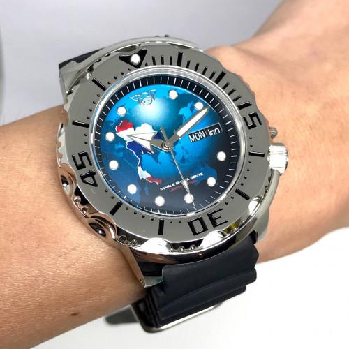 MAIALE BRAVA GENTE (MBG) Diver's 200m Limited 67/100 Automatic Date ขนาด 42 mm. (Fullset)
