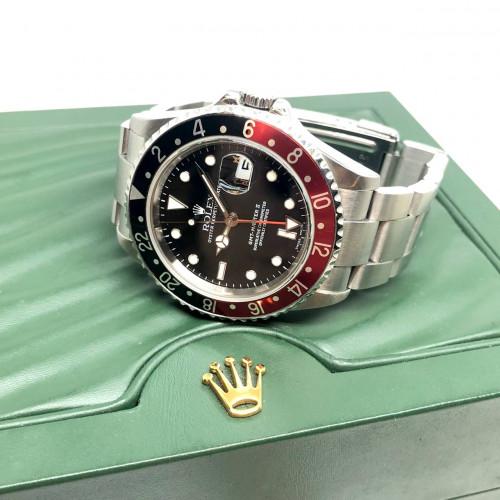 ROLEX GMT-Master II Coke 16710 D-Serial Automatic Date ขนาด 40 mm. (Fullset) | World Wide Watch Shop