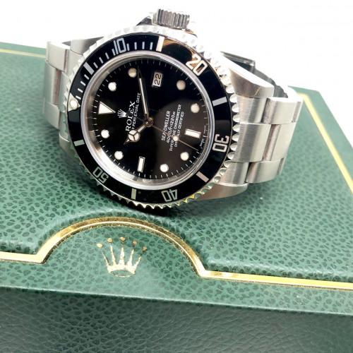 ROLEX Sea-Dweller 16600 D-Serial Automatic Date ขนาด 40 mm. (Fullset) | World Wide Watch Shop