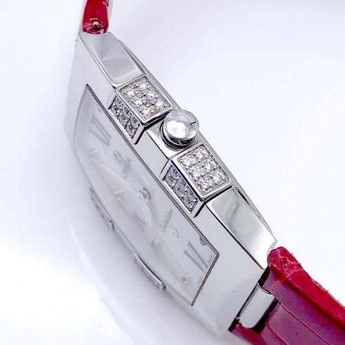 OMEGA Constellation Quadrella Diamonds Quartz สำหรับสตรี ขนาด 26x32.6 mm. (Fullset) 2
