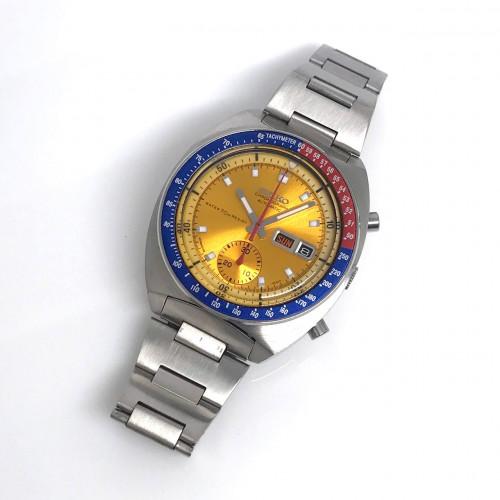 SEIKO Chronograph Automatic 6139-6000 1979s Size 41x46 mm. 1