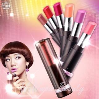 (เลิกผลิต)Etude House LUCIDarling Fantastic Rouge Lipstick ลิปสติคช่วยให้ริมฝีปากเป็นประกาย