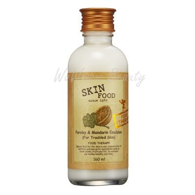 (Pre-order) Skinfood Parsley  Mandarin emulsion (for trouble skin)อีมัลชั่นบำรุงผิวสำหรับผิวเป็นสิว