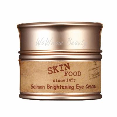 (Pre Order) Skinfood Salmon brightening eye cream  อายครีมมีสารสกัดจากปลาแซลมอน ช่วยลดรอยหมองคล้ำ