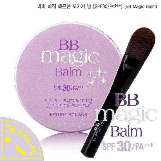 (Pre-order) Etude House BB magic balm spf30 PA++  บีบีเนื้อบาล์ม ช่วยให้หน้าเนียนขึ้น