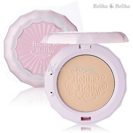 (เลิกผลิต) Holika Holika Baby Bloom Pact spf25 แป้งพัฟไม่ผสมรองพื้น ใช้ทาระหว่างวัน หน้าเด้งใส