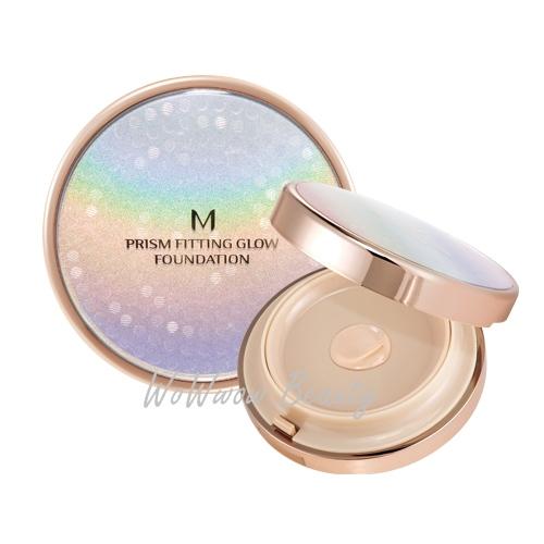 (Pre order) Missha M Prism Fitting Glow Foundation รองพื้นเนื้อบางเบา ช่วยให้ผิวเนียนเรียบกระจ่างใส