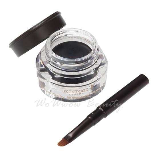 (Pre Order)Skinfood Choco Smoky WaterProof Eyeliner Jam เจลไลเนอร์ชนิดกันน้ำ เขียนง่าย พร้อมแปรง