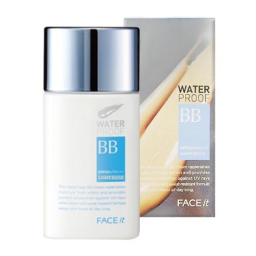 (Pre Order) the face shop Face It Water Proof BB cream บีบีเนื้อบางเบา ให้ลุคเป็นธรรมชาติ