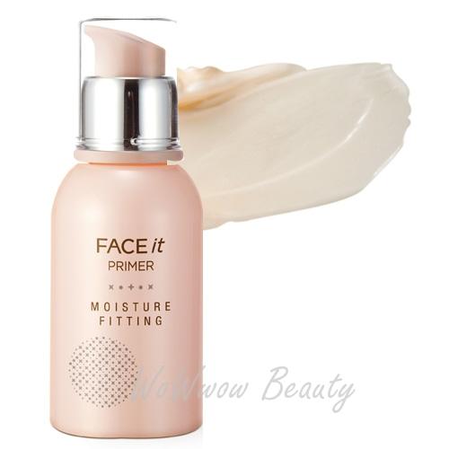 (Pre order) The Face Shop Face It Moisture Fitting Primer ไพร์มเมอร์ช่วยปกปิดรูขุมขน สำหรับผิวแห้ง